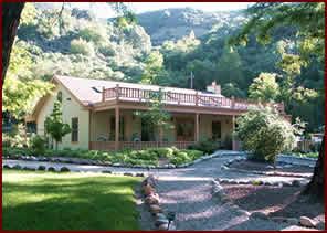 Heart lodge for retreats, yoga and meditation